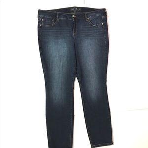 Torrid premium skinny Jeans size 20R